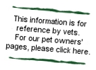 This page is for referring vets. If you are a pet owner please click here.